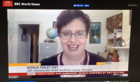 Talking Toilet Tourism with BBC World News